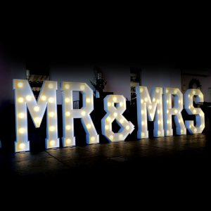 Giant Light Up Letters Amp Numbers For Hire In Melbourne