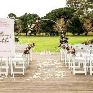Hire Ceremony Wedding Decoration Packages Melbourne Styled