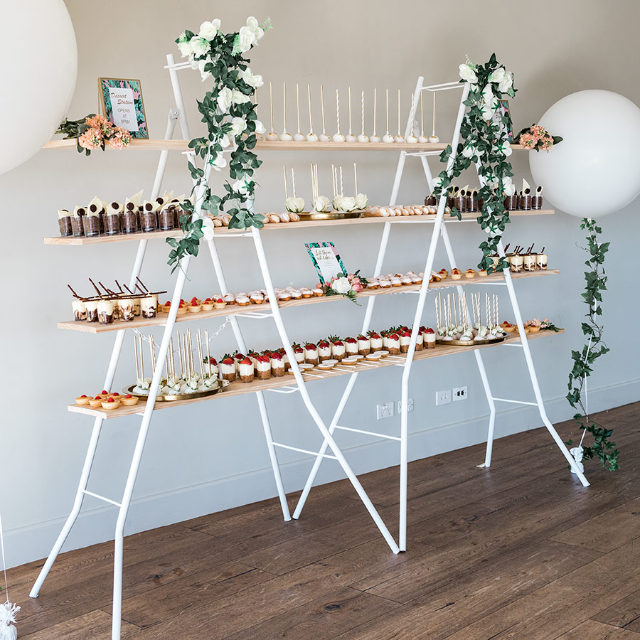 Tiered Dessert Shelving Stand Melbourne